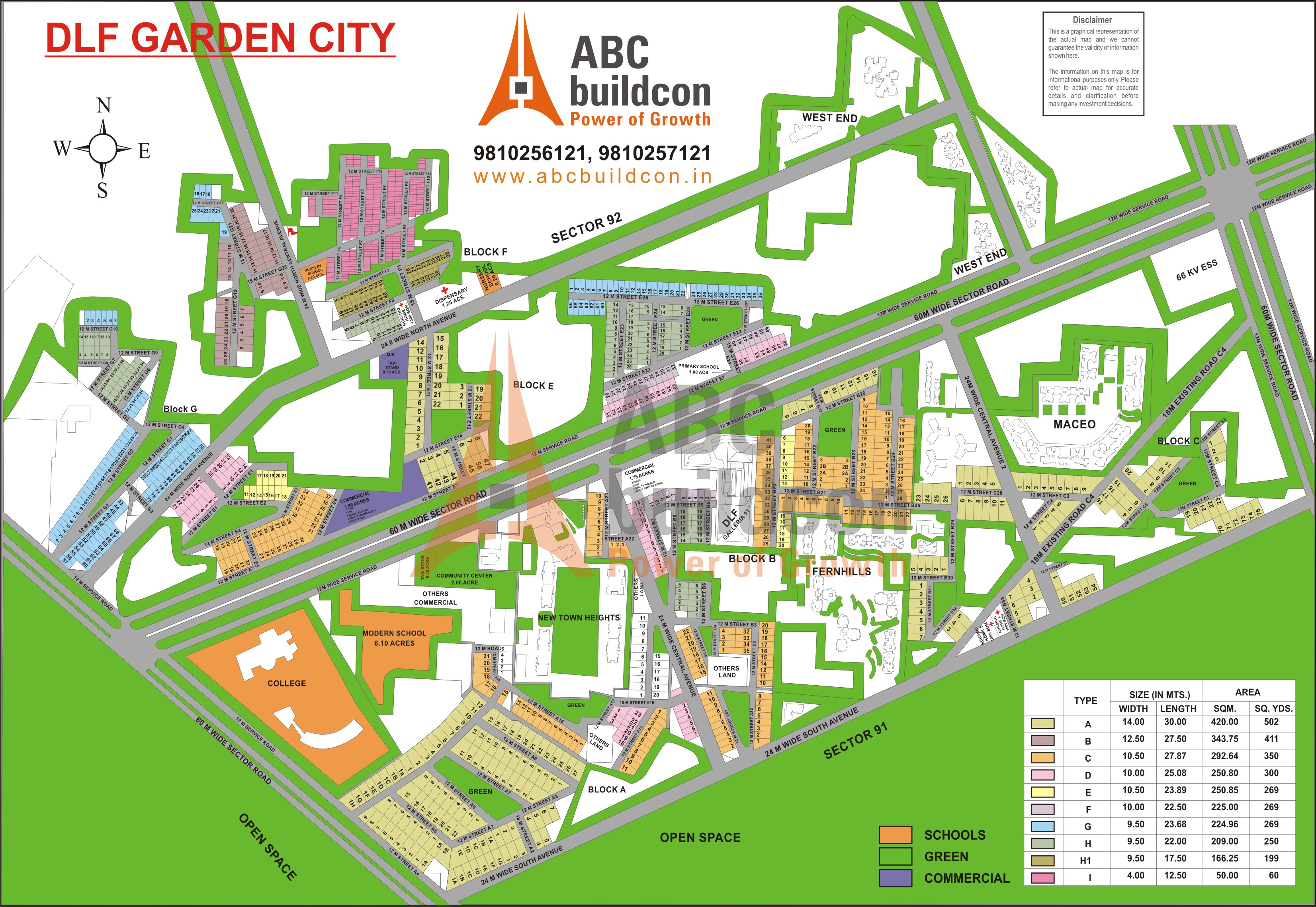 Gurgaon Sector Maps