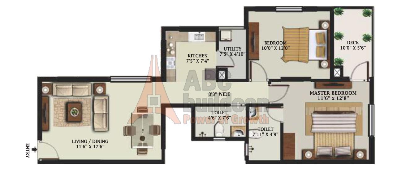 Mantri alpyne for Landcraft homes floor plans