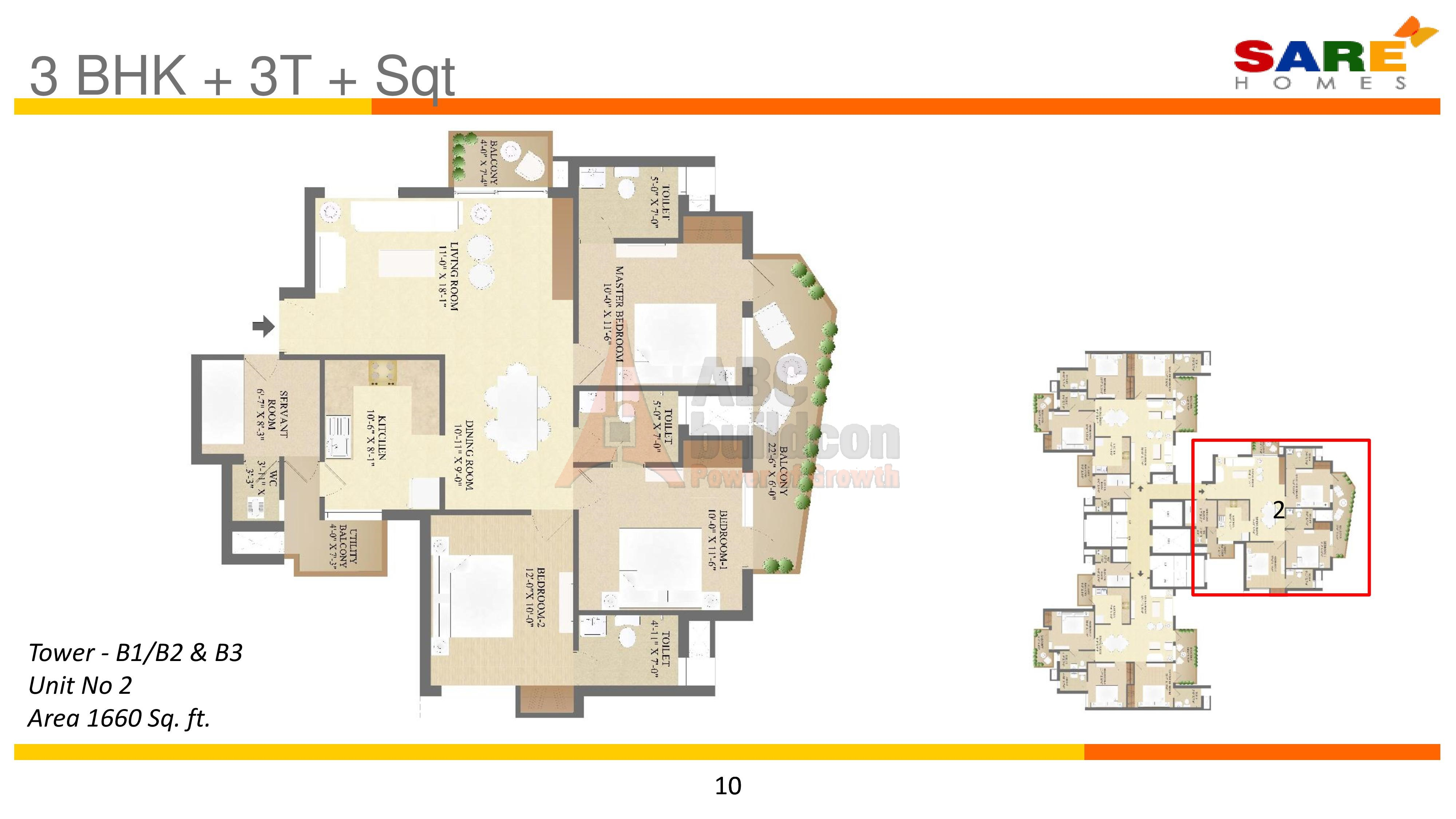 Sare olympia sector 92 gurgaon for Landcraft homes floor plans