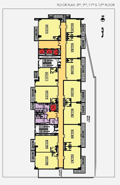 M3m cosmo plus sector 66 gurgaon m3m medical suites for Landcraft homes floor plans