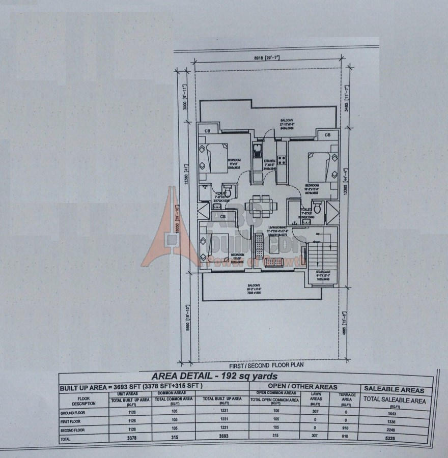 Central park 3 floors sector 33 greater gurgaon sohna for Landcraft homes floor plans