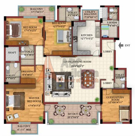 Dlf select homes sector 90 dlf garden city gurgaon for Landcraft homes floor plans