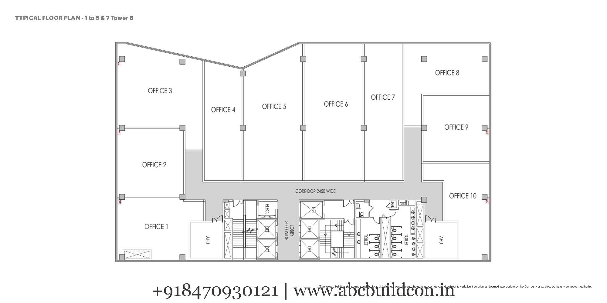 Unitech global gateway sector 26 gurgaon faridabad road for Landcraft homes floor plans
