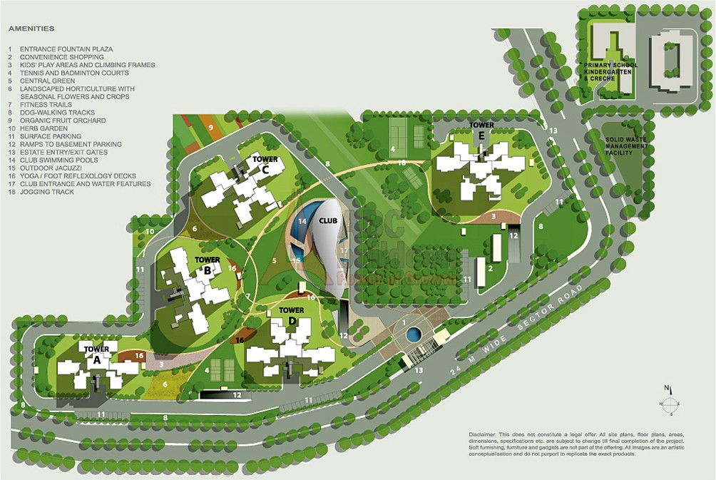 Ireo uptown golf course extension road sector 66 gurgaon for Website build project plan