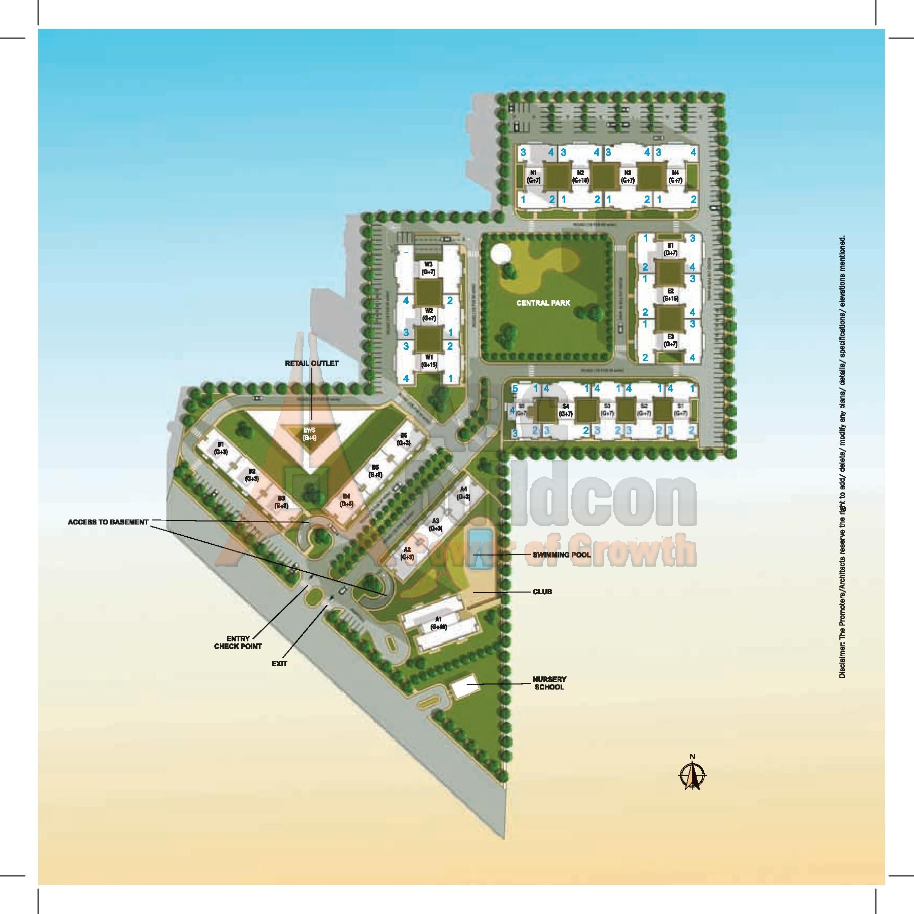 Vatika lifestyle homes sec 83 vatika india next gurgaon for Home site plan