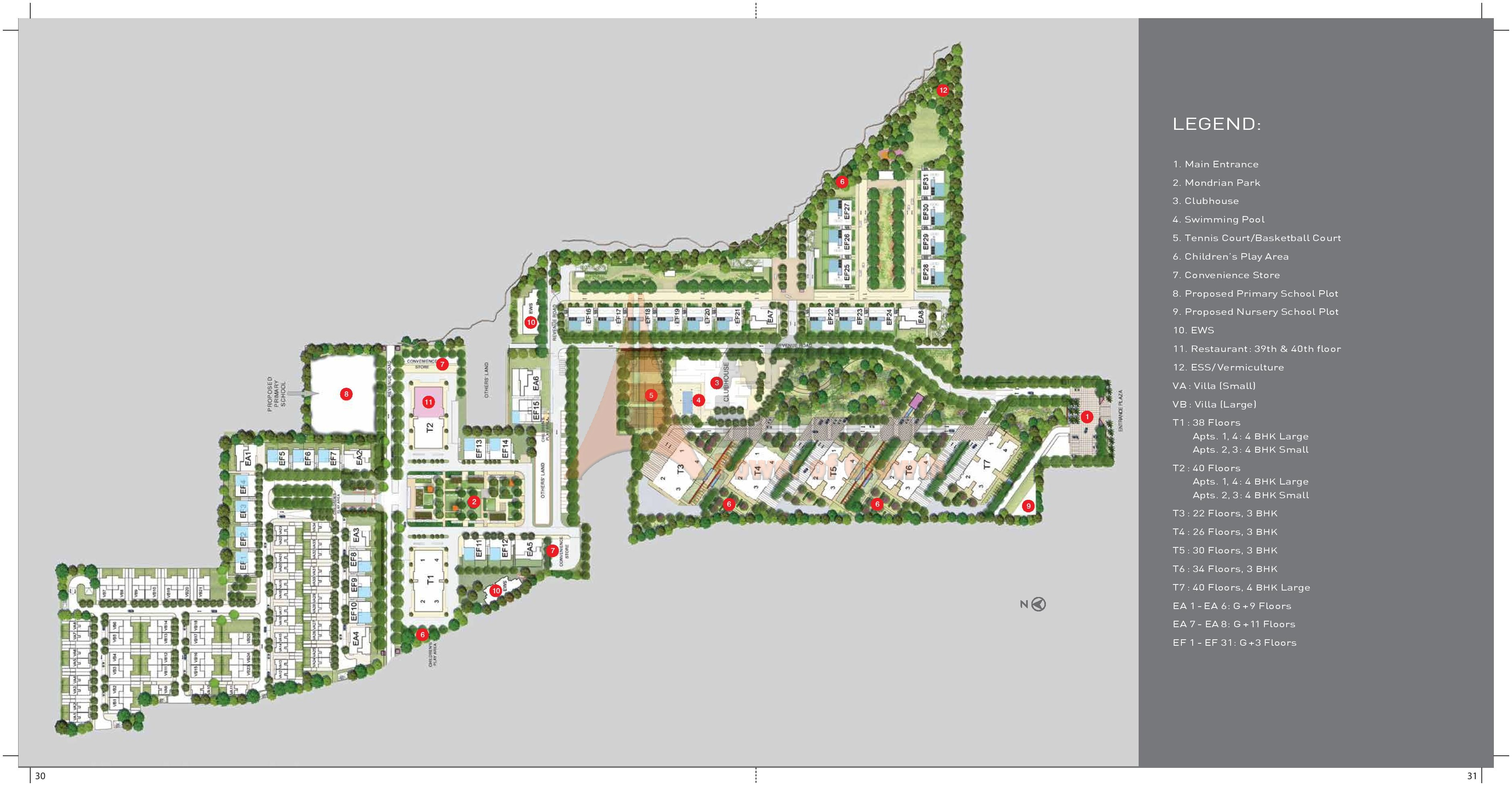 Location Map Site Plan TATA Primanti Garden Estate
