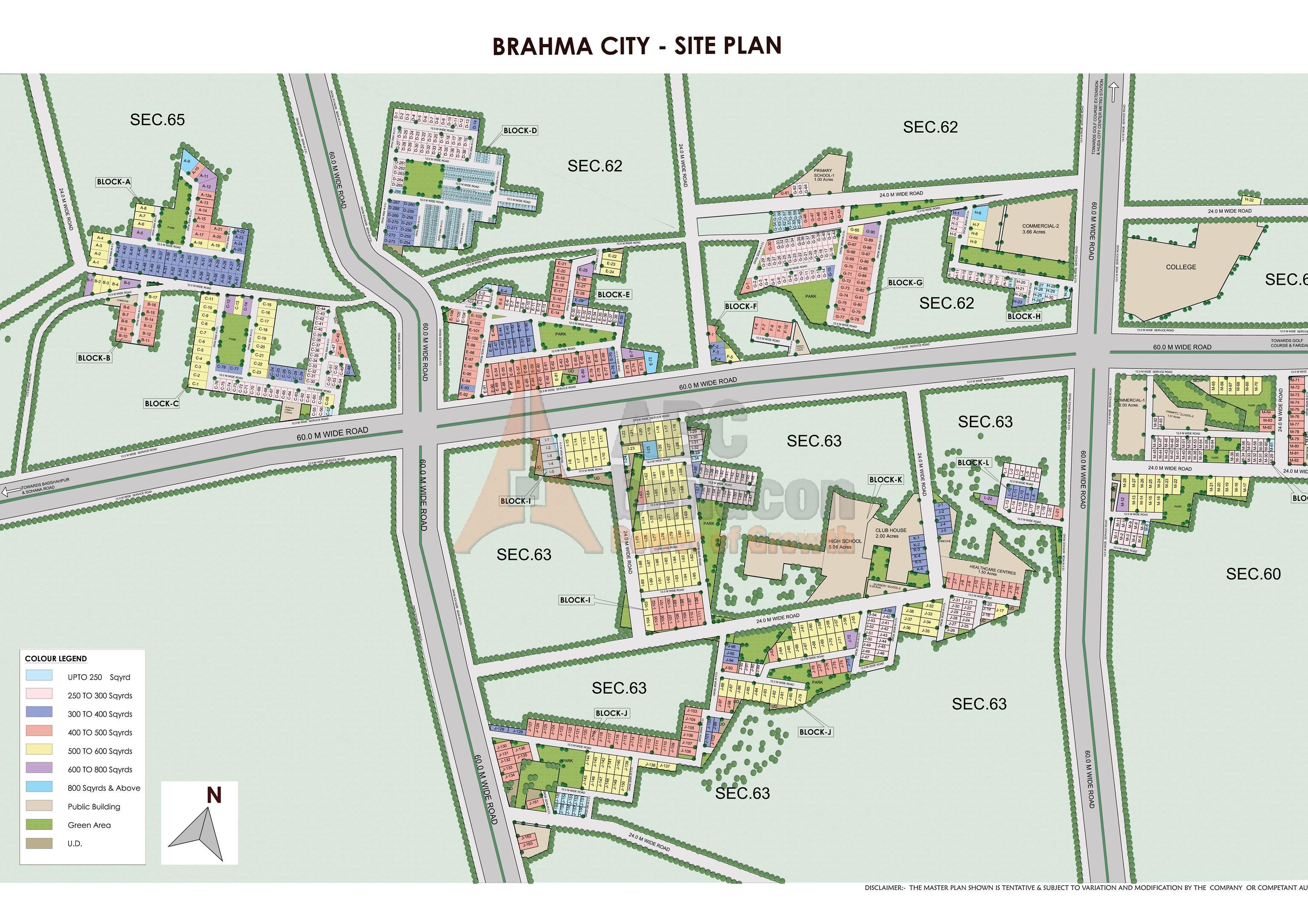 Brahma City Of Location Map