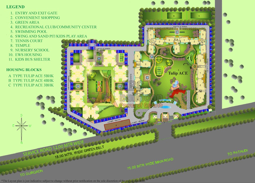 Tulip ace sector 89 gurgaon for Website build project plan