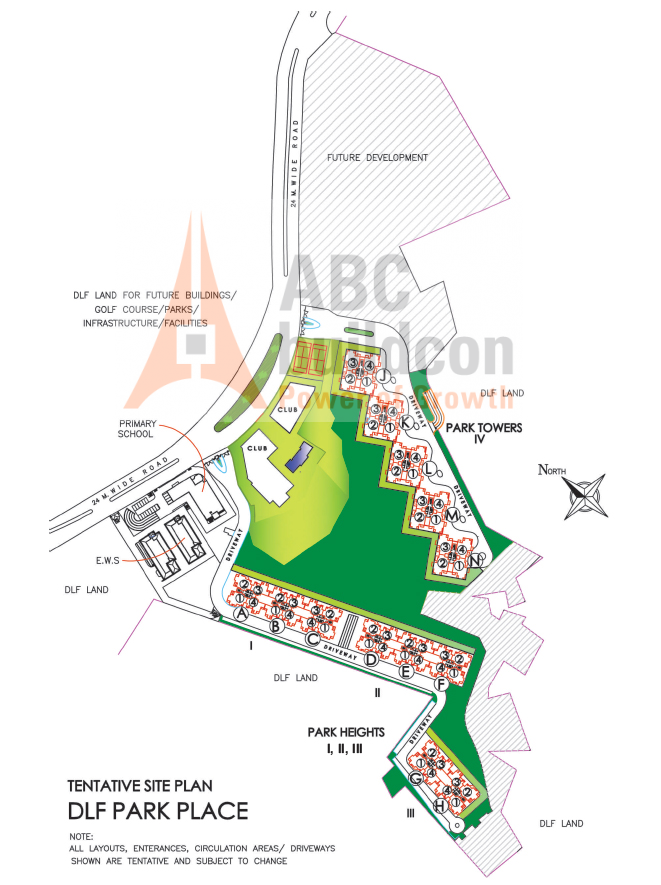Dlf Park Place Dlf Phase 5 Golf Course Road Gurgaon